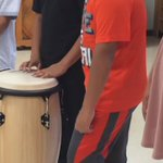 Drumroll please for @WellsBranchAIA fifth graders on #RRISDfirstday https://t.co/KOdcHT3yzI