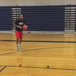 MBB first year @a_jerome1 made it to campus and is showing off his vertical #wolfpack https://t.co/gxvo1iVlPc