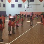 Mission Ridge Olympic Trials begin! Fencing 101 #P.Etime. Kinder students taking charge https://t.co/OZLqYE8nj1