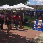Fall kickoff is happening until 3 today! Come find a group to join! #uncg20 #back2uncg https://t.co/i7qnH0ju46
