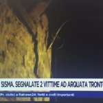Se difunden primeras imágenes en video de los daños en #Amatrice, #Italia, por el #sismo de 6.2. https://t.co/NwRUGcDWMI