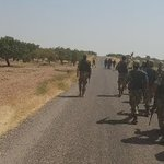 VIDEO: FSA enters Syria from Turkey to fight ISIS & YPG in Northern Syria - @mburakkrcglu https://t.co/LU96E8j3Zl