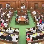 Centres repersatative in Delhi Assembly Vijender Gupta threatened to dissolve assembly   https://t.co/zK3yyPaai2