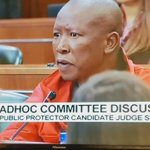 WATCH Julius Malema argue why Judge Desai should not be appointed as new #PublicProtector ... ANC supports Desai https://t.co/WtL0RVpYlS