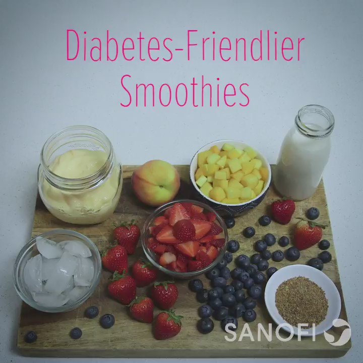 Cool off this summer with these healthy, diabetes-friendlier smoothies from @AmDiabetesAssn. https://t.co/YUwS2mqU29