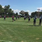 Eagles QB Carson Wentz taking mental reps without helmet; ribs still sore. #Eagles hope he can play on 9-1 vs Jets https://t.co/YqclHi2lwG