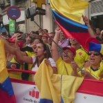 Sube al podio en Lugo el líder @elpumaDarwin arropado por el público  🇨🇴🇨🇴 #LV2016 https://t.co/yurVwW5CJI