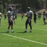 @EBUTT08 and @SwaveyDallis showing great camaraderie!! #tightestteaminthecountry #swingtheaxe https://t.co/Wzyudp1t6K