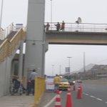 1er ascensor en puente peatonal ya permite traslado de personas con discapacidad en Vía Evitamiento. #ObrasQueUnen https://t.co/vLAuszGOSm