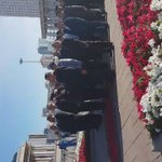 Сүхбаатарын хөшөөндөө цэцэг өргөх ёслол #МХЗЭ95 #МЗХ25 @munkhbat_a @_Birjanka @555_boloroo @uki_0122 @myfeder https://t.co/Plnf7BhMBO