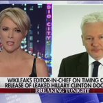 Dont miss more of megynkellys exclusive interview w/ WikiLeaks Julian Assange tomorrow on the #KellyFile. https://t.co/P3DqVKueGx
