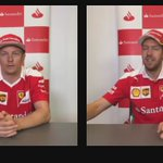 ⏱🎁 Challenge   Wrap a present in less than one minute: Kimi vs Seb https://t.co/MnIwaF7DWh