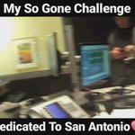 Did my #SoGoneChallenge on the morning show with @DanaCortez & @TheBeat985 s/o SA & Tim Duncan 🔥🔥🔥 @chancetherapper https://t.co/0y5DN4qnNV