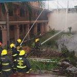 @PCYBOMGDL combate incendio en bodega de productos de limpieza y plásticos en Luis Alcaraz col. Santa Cecilia https://t.co/gHOGccDZuY
