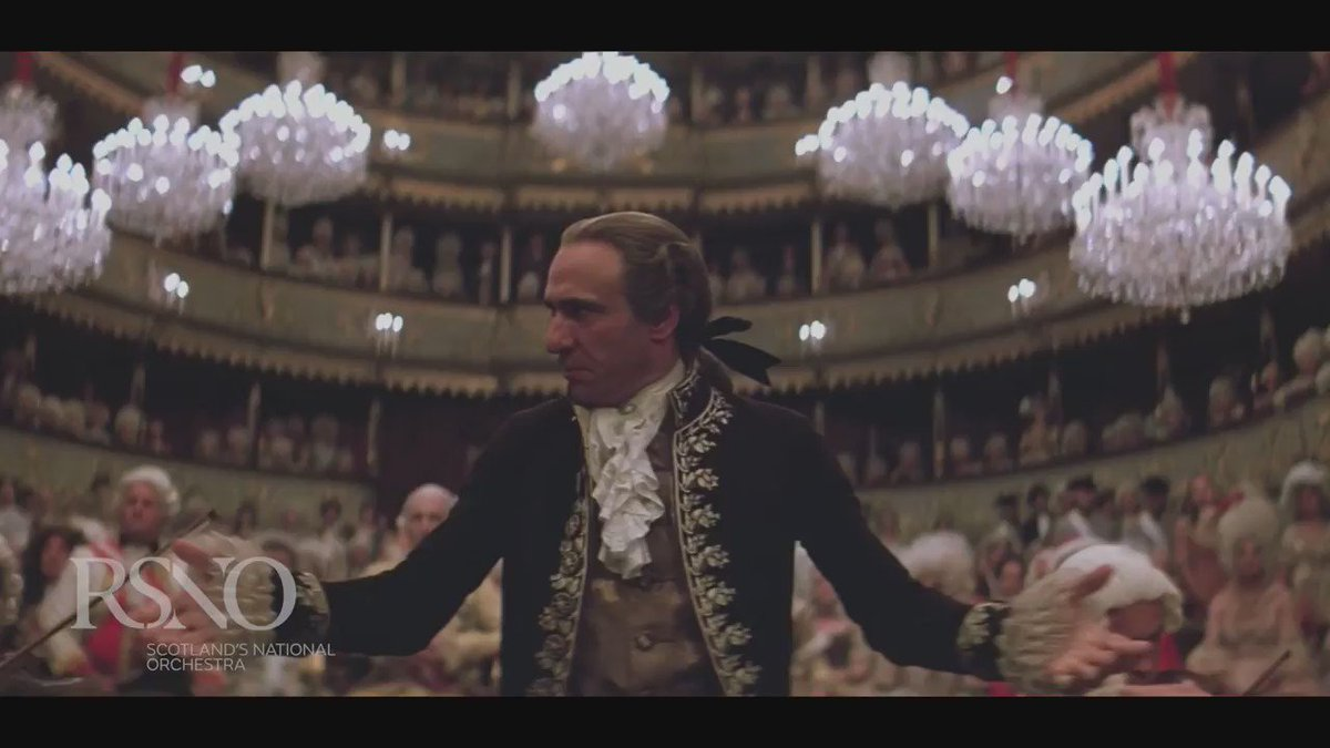 Amadeus: epic film, glorious music! See the complete film w @RSNO Live in May 2017. Book now https://t.co/0MzDJMsyB1 https://t.co/o72TI3KIHk