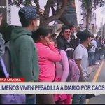 Así es el caos del transporte público en la Javier Prado. ¿Y la reforma de transporte, Alcalde Castañeda? https://t.co/xiKOkP5cQA