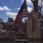 Kokomo holds a special place in my heart. The city & people are incredibly strong. Always here 2 help. #KokomoStrong https://t.co/aTykfxjslN