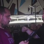 West Ham fan on West Ham Fan TV after his sides exit in the Europa League vs FC Astra. #WHUFC https://t.co/t22mkN6X6P