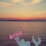 what school do you know of that you can go to a pier and see dolphins at sunset 😭 I love #ODU 🐬💙 https://t.co/aF8FkfZCjS