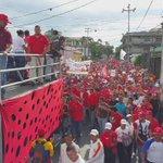 FUERZA CHAVISTA  Así se hizo sentir nuestro pueblo larense! Tremenda Marcha! Gran manifestación de amor! https://t.co/lBZfif9uff