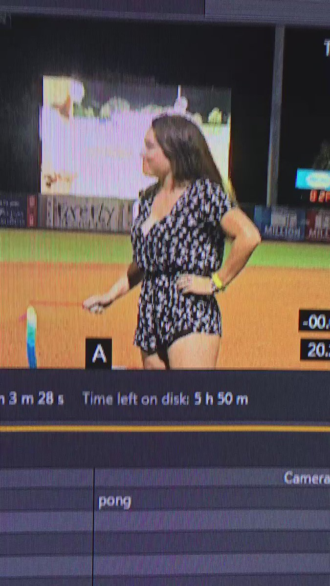 When a between-inning ribbon dancing contest gets to be a little too much #NotTop10 @SportsCenter https://t.co/nxUBFYf6pq