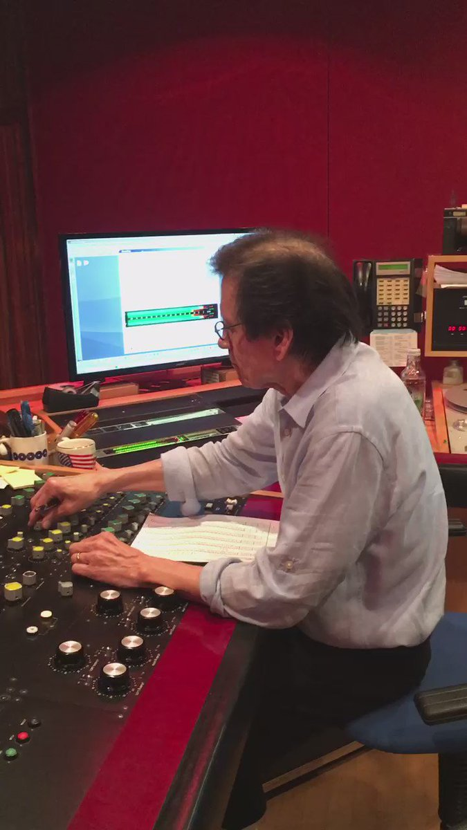 Boy look at Bernie Grudman working his magic on @1TigerLyn album @bgmastering that's coming out on @UMG https://t.co/fnq5TIIAD9