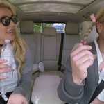 """...Baby One More Time"" with two @britneyspears is what dreams are made of! #LateLateShow #BritneyCarpool https://t.co/4hMicSx8Oe"