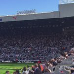 Heres a reminder of what the Gallowgate End looked (and sounded) like last time. 🏴🏳🏴🏳 #NUFC https://t.co/mVyq9O49bH