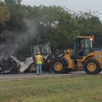 Left lane of I24 closed again while they clear 18wheeler after fire at mile marker 148 in Marion Co. https://t.co/DOJVoxjjE1