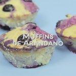 Lo único que te va a demorar menos que preparar estos muffins de arándano es comértelos. 😉 #FelizSinAzúcar https://t.co/SIOupaeAoi