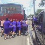 Autobús de categoría de reserva del Chalatenango sufrió desperfectos mecánicos rumbo a juego en Pasaquina. https://t.co/qy09lnsBZN
