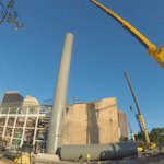 ICYMI: We got a front row seat for the first replica smoke stack installation at the steam plant. https://t.co/cEHBG3zSq1