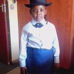 """#sapsMP WATCH: """"I want to teach bad people a lesson and protect South Africa"""" says 7-year old Police Officer. DD https://t.co/fTycrlzYd4"""