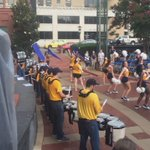 .@UTCMarchingMocs & Spirit and dance putting on a show here @NightfallCHA !! First game Thurs 9/1!! #GoMocs https://t.co/4XtlXjX8sy