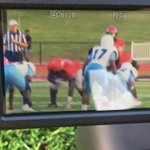Halfback pass from @thereal_cam3 to @DariusMaberry makes it 7-0 @ArrowsAthletics over Ridgeland. https://t.co/tLF9tCguju
