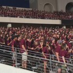 The largest freshman class ever is ready to go!!!!! #PartyInTheEndzone https://t.co/X4FE8gYr3h