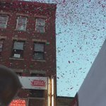 #StAnthonysFeast opening ceremony in #Boston #NorthEnd @cbsboston https://t.co/z7cAp2q8KC