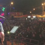 Hoy maratón de rock en @LaFeriaDeLoja.  En escena👉@rafaelminga 🤘 https://t.co/3y5r6qs9bb
