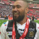 """#ChallengeCupFinal   @PritchardFrank: """"We couldnt have done it without all these @hullfcofficial fans!"""" https://t.co/eVit86wFbo"""