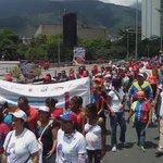 #EnFotos así la comunidad de @Incesocialista tomó las calles de Caracas y mostró su apoyo al Pdte. @NicolasMaduro https://t.co/te1CPnHjK0