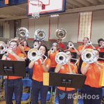 The Cavalier Band has Mem Gym rocking tonight for @uvavolleyball! #GoHoos #wahoowa 🔶🔷🏐 https://t.co/39jnRaZ8Ga