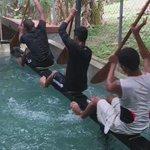 Que siente al ver estos jóvenes ingeniándoselas para poder practicar su deporte? Alegría,Frustración,motivación? https://t.co/5yP225wOzW