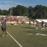 About an hour away from kickoff between Hattiesburg and Laurel. https://t.co/w3HoETjHkO