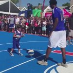 Dont worry lil man we still got the same amount of NBA games played ha  #TrustTheProcess #WeAllFromAfrica https://t.co/KzaCsbwCNQ