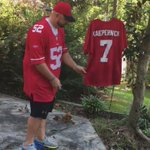 Time 2 Get UR Priorities Right Kaepernick! 9ers fan burns #7jersey 2 Natl Anthem https://t.co/Lt1m4kqORO @NFL @49ers https://t.co/yJmIHGcupj