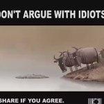 لا تناقش الأغبياء ! https://t.co/7lYTJtaTKF