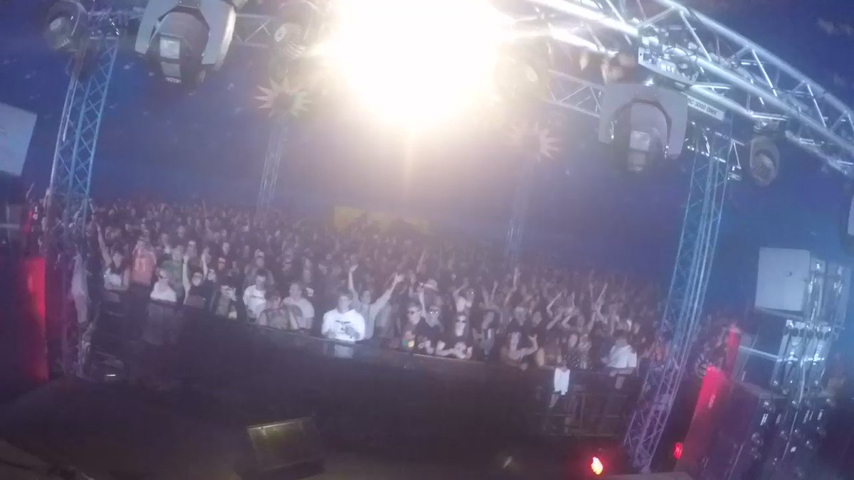 Rock for Churchill Festival last night in Czech Republic was sick! Shouts to @rfchfest, thanks for having me!