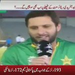 @SAfridiOfficial this when the whole crowd in India chant Shahid khan.Shahid khan How much fans love u in lala 😍💚💕🙌 https://t.co/eFB9AVo76i