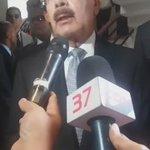 Declaraciones del mandatario a su salida de la Funeraria Blandino @CDN37 https://t.co/uD6TcC0tAq