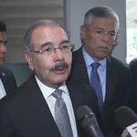 Danilo Medina, palabras luego de acudir esta mañana a solidarizarse con familiares de Hatuey De Camps. https://t.co/BCIHYkrXJ5